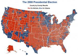 Cliquez sur limage pour aggrandir la carte des résultats, comté par comté