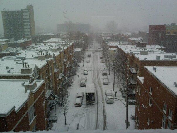 rue Hôtel-de-ville à Montréal