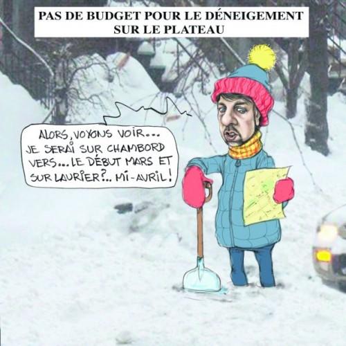 Luc Ferrandez et le déneigement de la rue Chambord