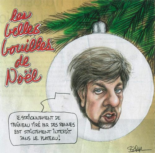 Luc Ferrandez: bouille de Noël