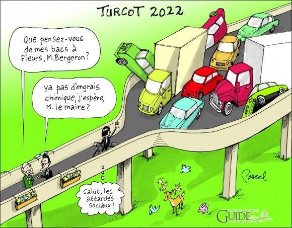 caricature échangeur Turcôt