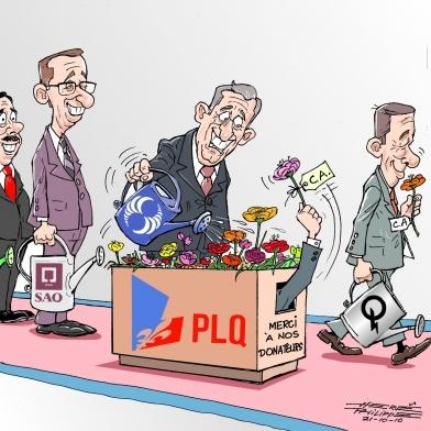«Le Parti libéral s'est littéralement emparé de l'État québécois»  L'opposition péquiste accuse le gouvernement Charest d'avoir érigé un véritable système «bien huilé» de nominations partisanes.