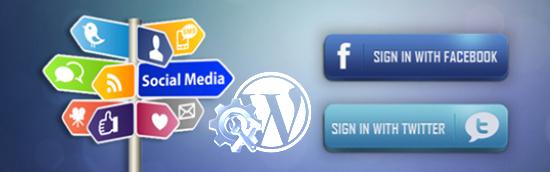Les nouvelles extensions «sociales» de mon blogue WordPress en 2012