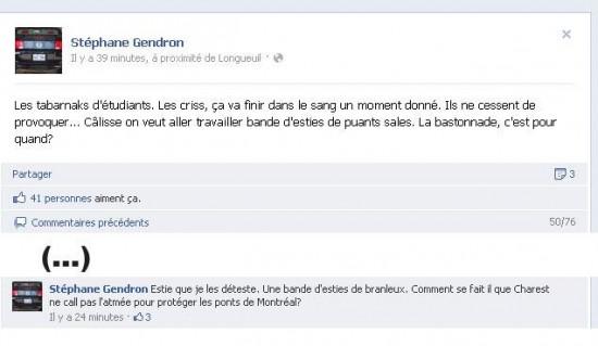 Stéphane Gendron a pété les plombs live sur Facebook