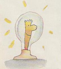 le géniteur de nouvelles : idées; le chercheur à la fine pointe, le penseur ou ~nventeur; parfois consi- déré comme marginal ou excentrique par la majorité; se trouve sur la membrane même de l'amibe.