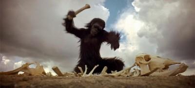 une scène du film 2001, l'Odyssée de l'espace