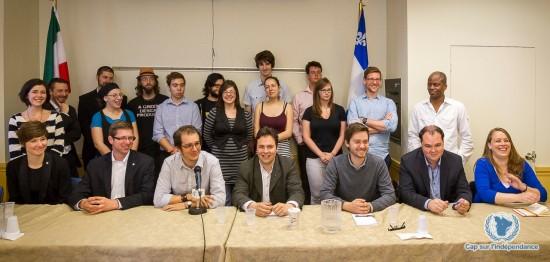 Conférence presse - Les jeunes et la souveraineté