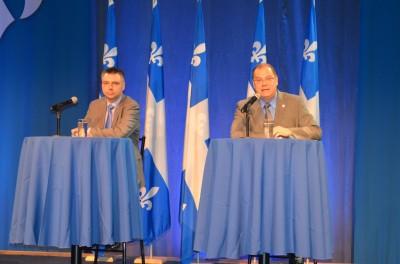 André Bellavance et Mario Beaulieu