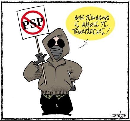 le manifestant altermondialiste selon La Presse