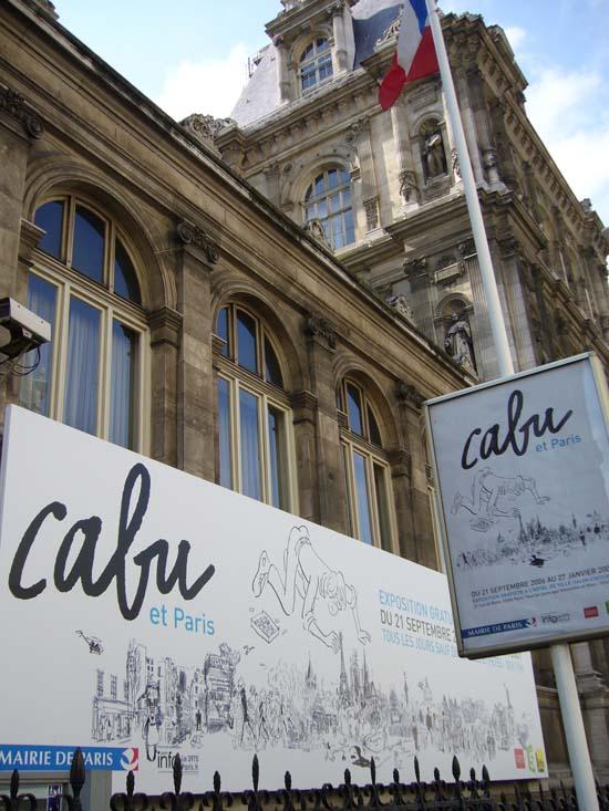 Expositions Cabu à Paris